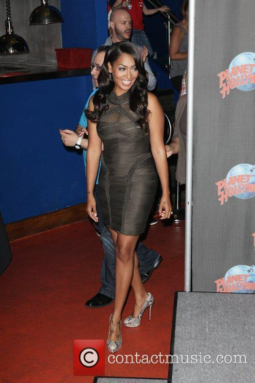 Promotes her new reality television show, 'La La's...