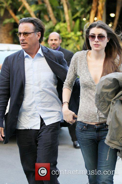 Andy Garcia and daughter Celebrities arrive at The...