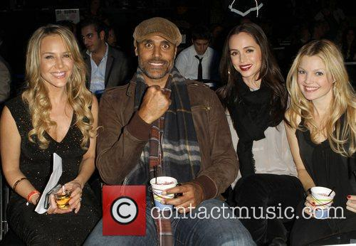 Julie Benz, Clare Kramer, Eliza Dushku and Rick Fox