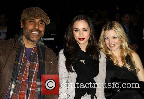 Rick Fox, Clare Kramer and Eliza Dushku 9