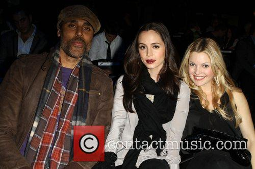 Rick Fox, Clare Kramer and Eliza Dushku 10