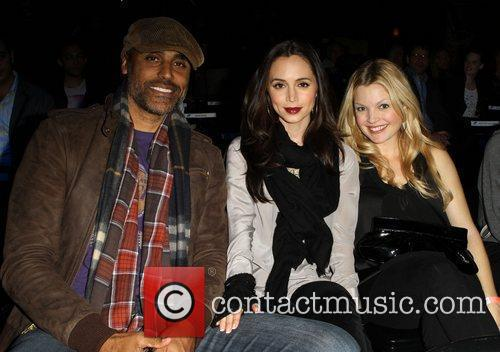 Rick Fox, Clare Kramer and Eliza Dushku 6