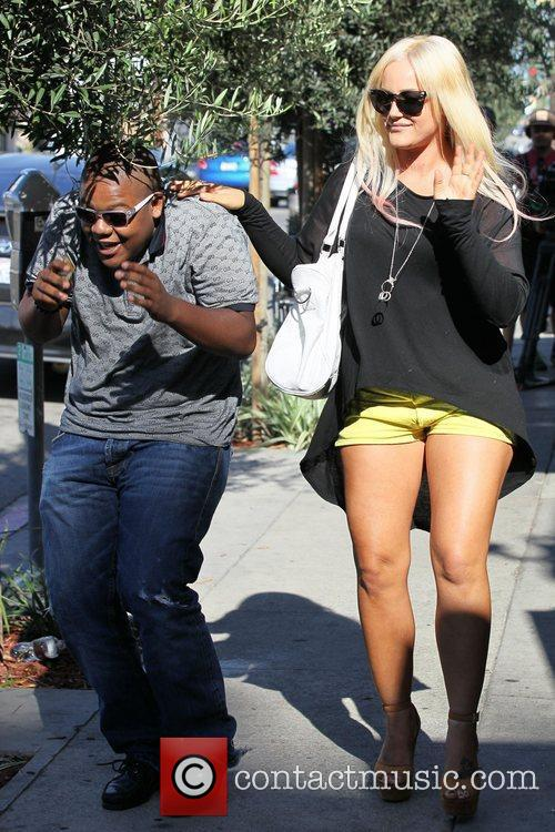 Dancing With The Stars, Kyle Massey and Lacey Schwimmer 8
