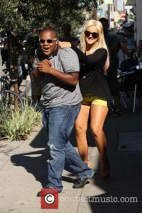 Dancing With The Stars, Kyle Massey and Lacey Schwimmer 3