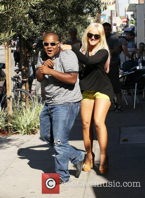 Dancing With The Stars, Kyle Massey and Lacey Schwimmer 1
