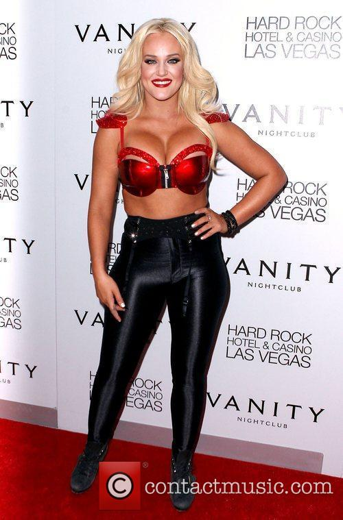Lacey Schwimmer, Hard Rock Hotel And Casino