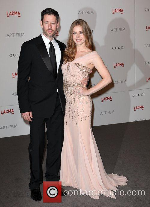 Amy Adams and husband Darren Le Gallo...