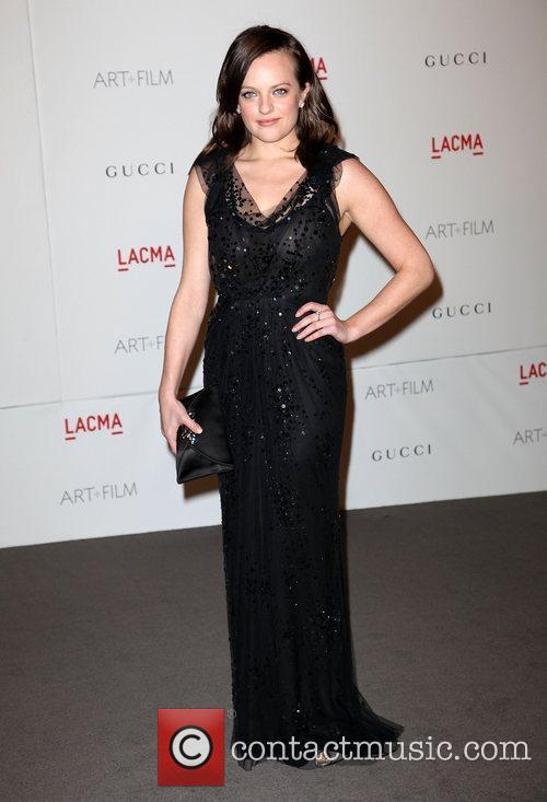 Elisabeth Moss LACMA's Art And Film Gala Honoring...