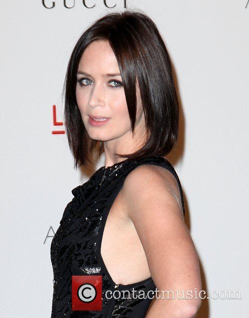 Emily Blunt LACMA's Art And Film Gala Honoring...