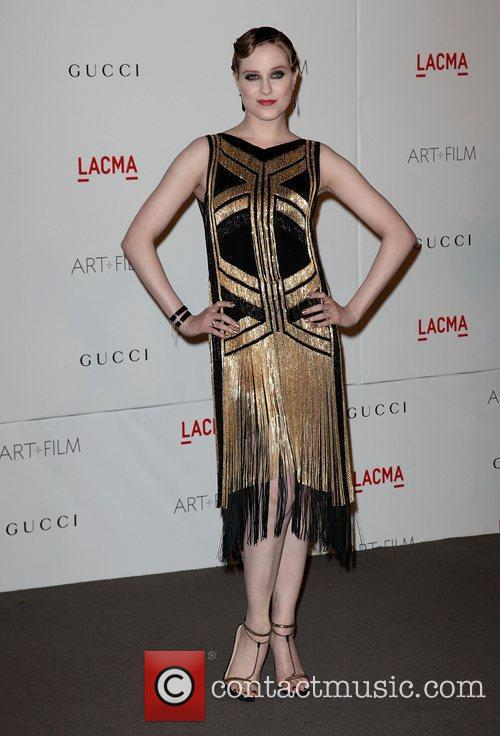 Evan Rachel Wood LACMA's Art And Film Gala...