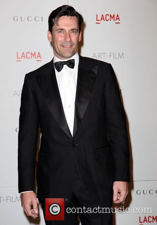 Jon Hamm LACMA's Art And Film Gala Honoring...