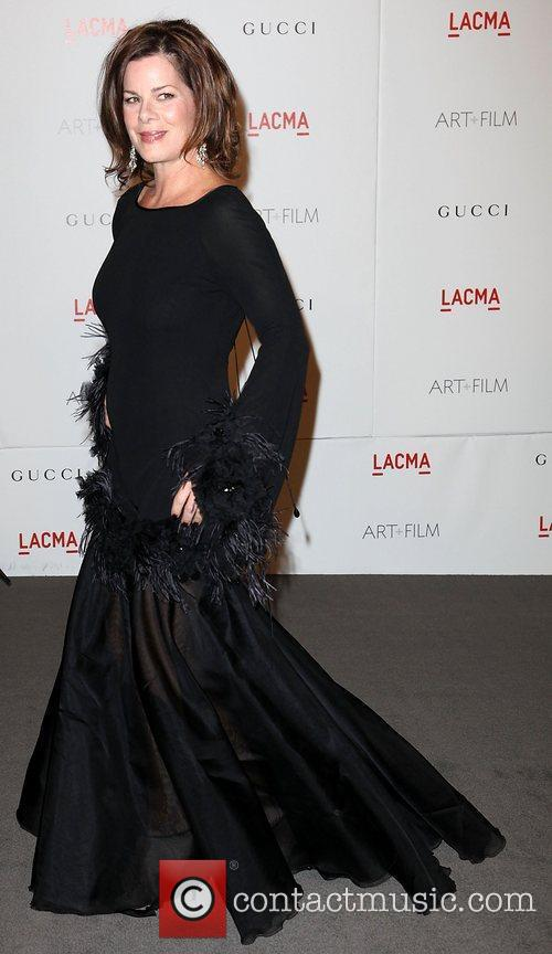 Marsha Gay Harden LACMA's Art And Film Gala...
