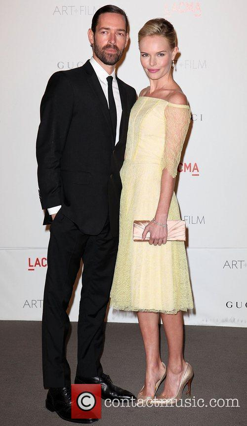Michael Polish and Kate Bosworth LACMA's Art And...