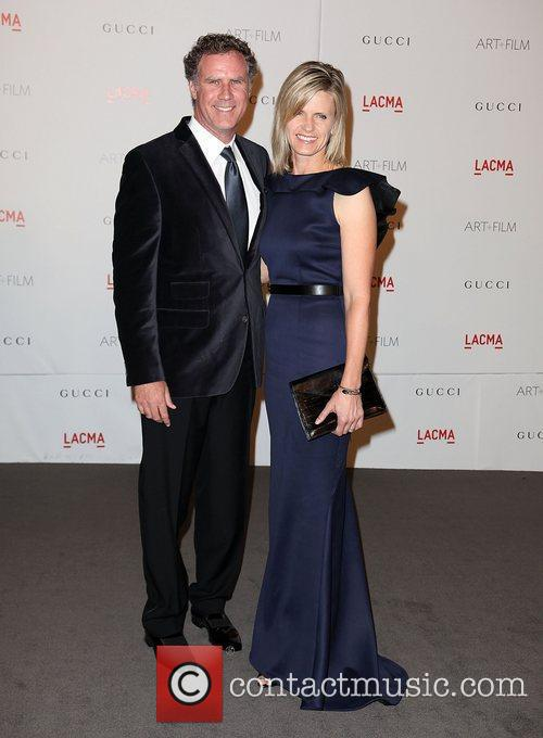 Will Ferrell and Viveca Paulin-Ferrell LACMA's Art And...