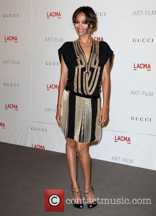 zoe saldana lacmas art and film gala 3594337
