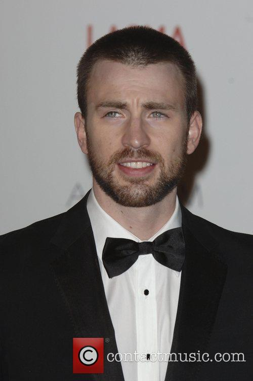 Chris Evans  LACMA's Art And Film Gala...