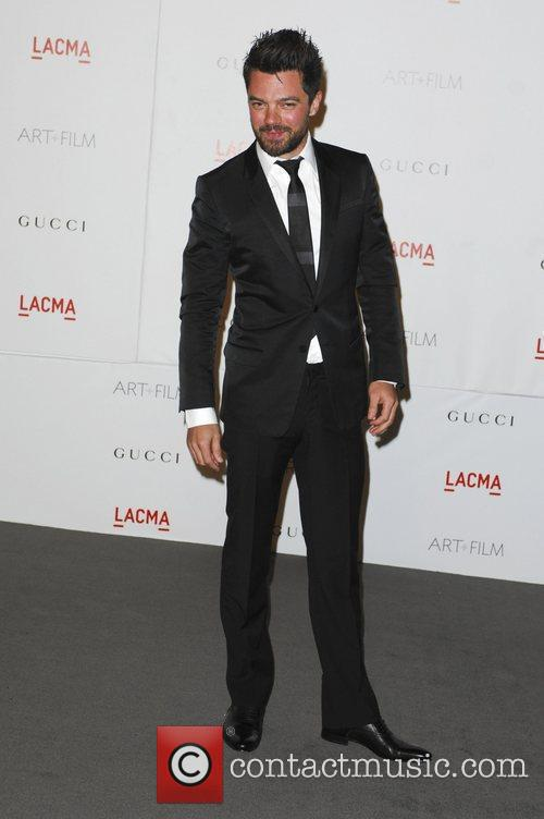 Dominic Cooper  LACMA's Art And Film Gala...