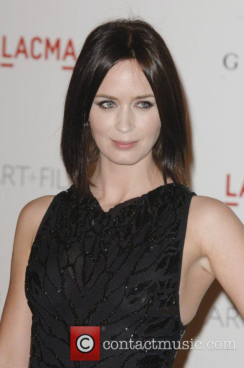 Emily Blunt  LACMA's Art And Film Gala...