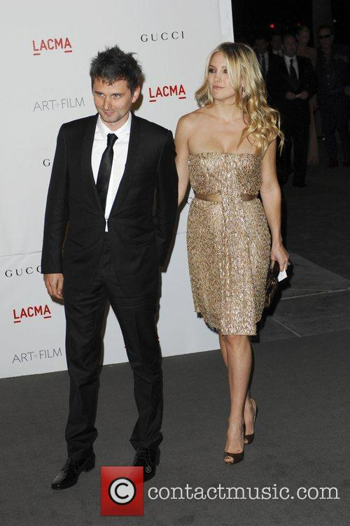 Kate Hudson and Matt Bellamy LACMA's Art And...