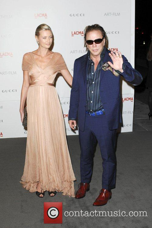 Mickey Rourke  LACMA's Art And Film Gala...