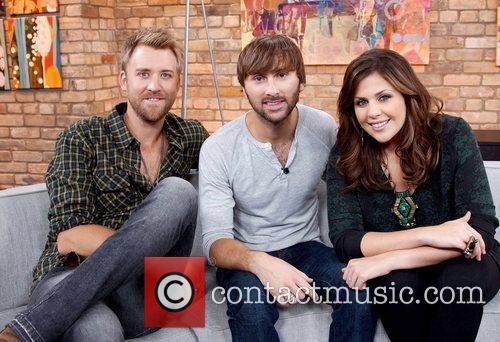 Charles Kelley, Dave Haywood, and Hillary Scott...