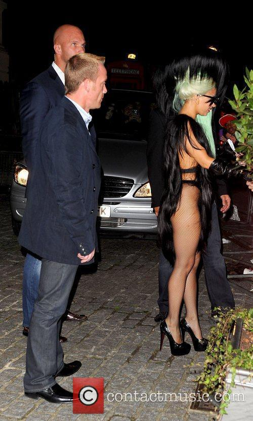 Lady Gaga and The Roundhouse 2