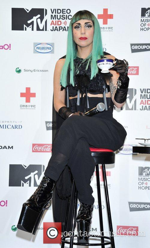 Lady GaGa and MTV 15