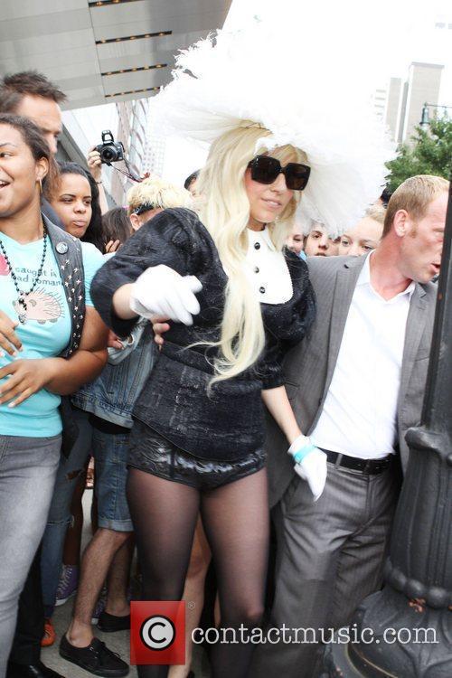Lady Gaga, fresh back from a trip to...