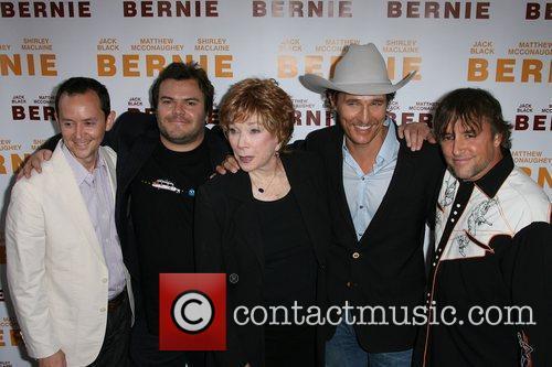 Jack Black, Matthew Mcconaughey, Richard Linklater and Shirley Maclaine 2
