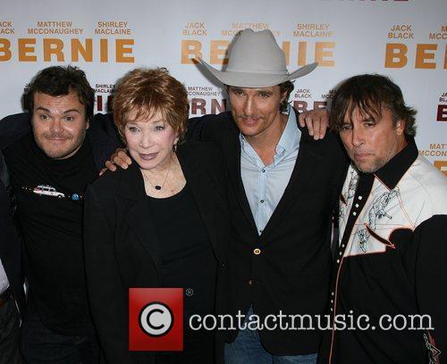 Jack Black, Matthew Mcconaughey, Richard Linklater and Shirley Maclaine 1