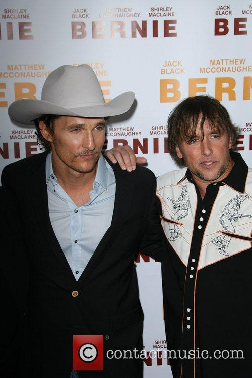 Matthew McConaughey and Director Richard Linklater 2011 Los...