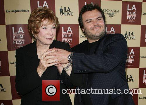 Shirley MacLaine and Jack Black 2011 Los Angeles...