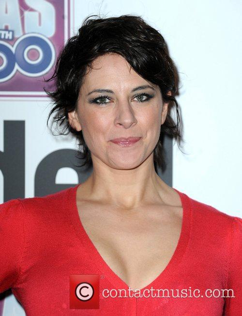 Belinda Stewart-Wilson  2011 Loaded Laftas awards at...