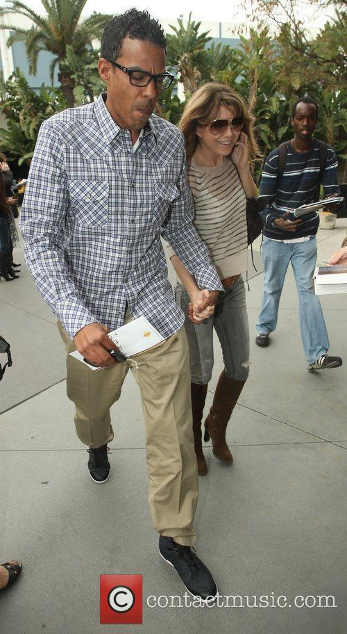 Ellen Pompeo and Chris Ivery,  arriving at...
