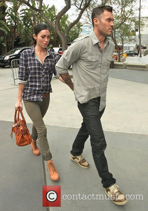 Megan Fox and Brian Austin Green 1