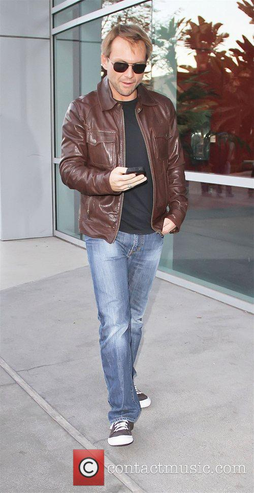 Christian Slater Celebrities attend a Los Angeles Lakers...