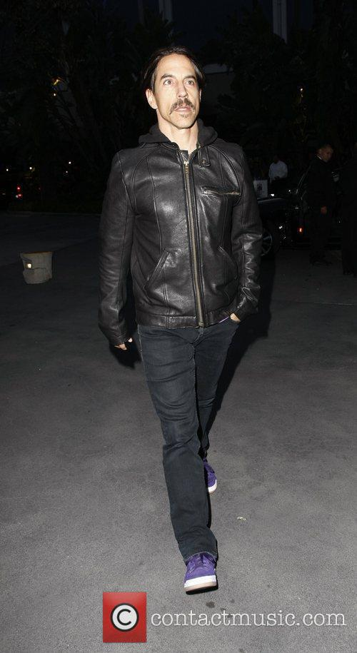 Anthony Kiedis  Celebrities arriving at the Staples...