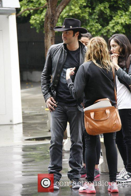Robert Rodriguez,  arrives at the Staples Centre...