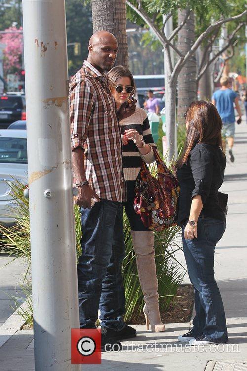 Lamar Odom and Khloe Kardashian 13