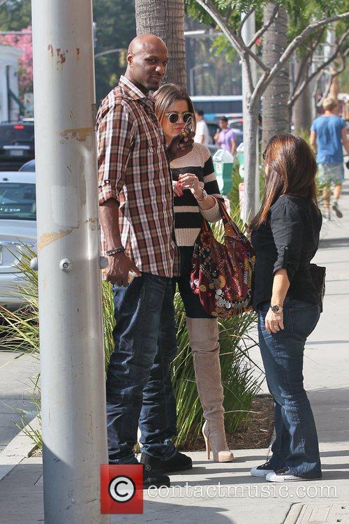 Lamar Odom and Khloe Kardashian 5