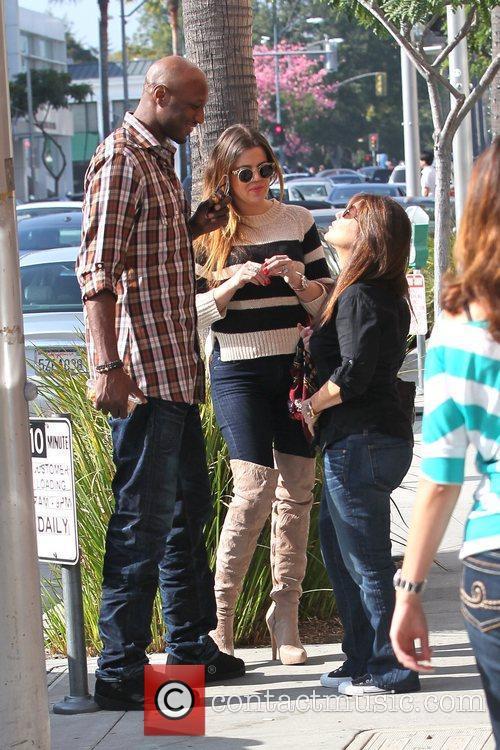 Lamar Odom and Khloe Kardashian 11