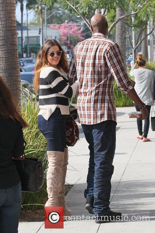 Lamar Odom and Khloe Kardashian 7