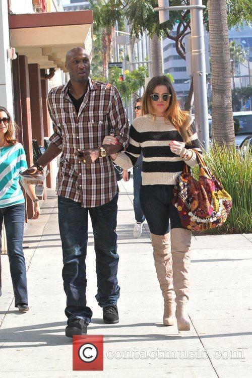 Lamar Odom and Khloe Kardashian 12