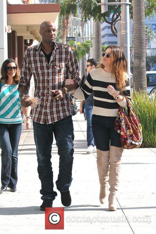Lamar Odom and Khloe Kardashian 2