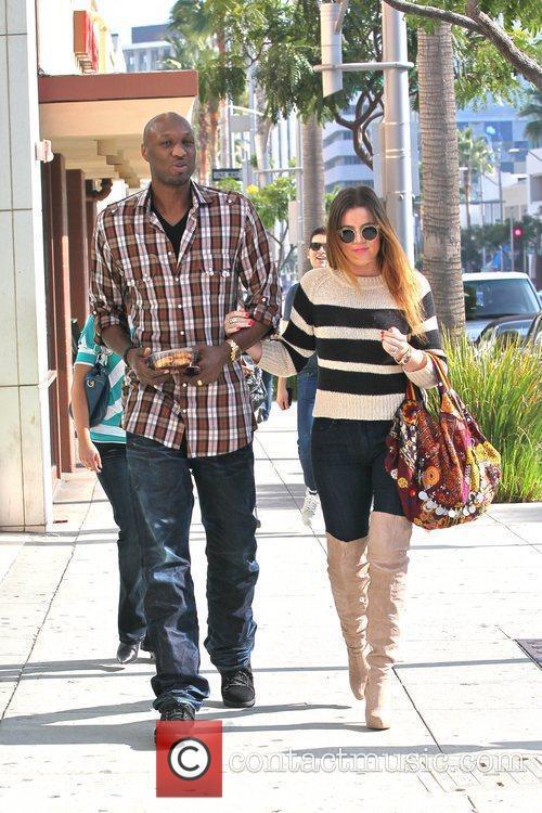 Lamar Odom and Khloe Kardashian 17