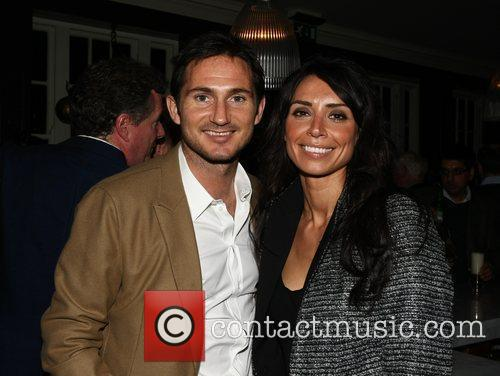 Frank Lampard and Christine Bleakley at a pub...