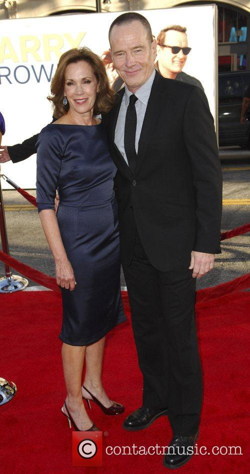Bryan Cranston and Guest 'Larry Crowne' Los Angeles...