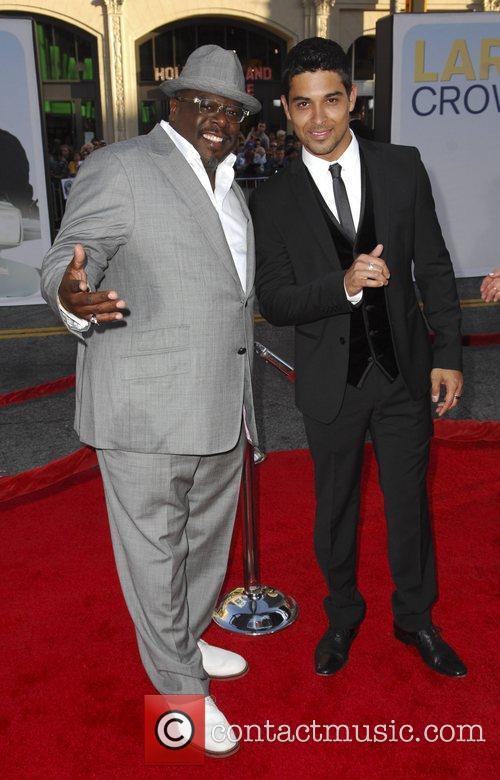 Cedric The Entertainer and Wilmer Valderrama 'Larry Crowne'...