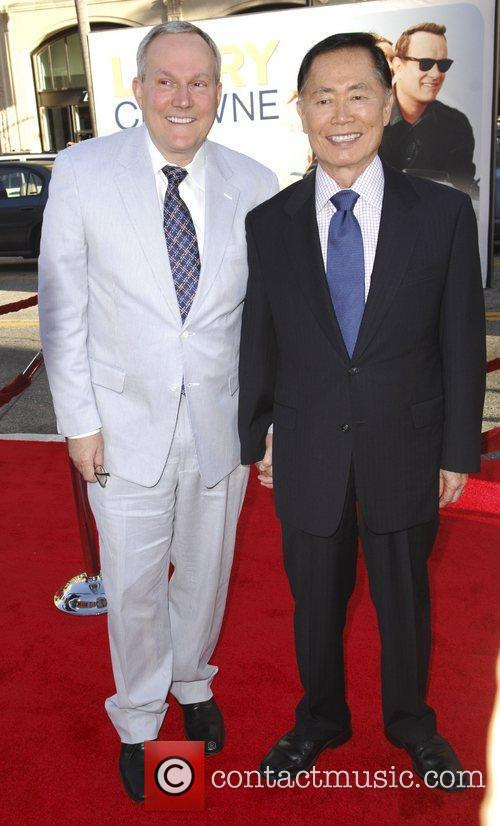 Brad Altman and George Takei 'Larry Crowne' Los...