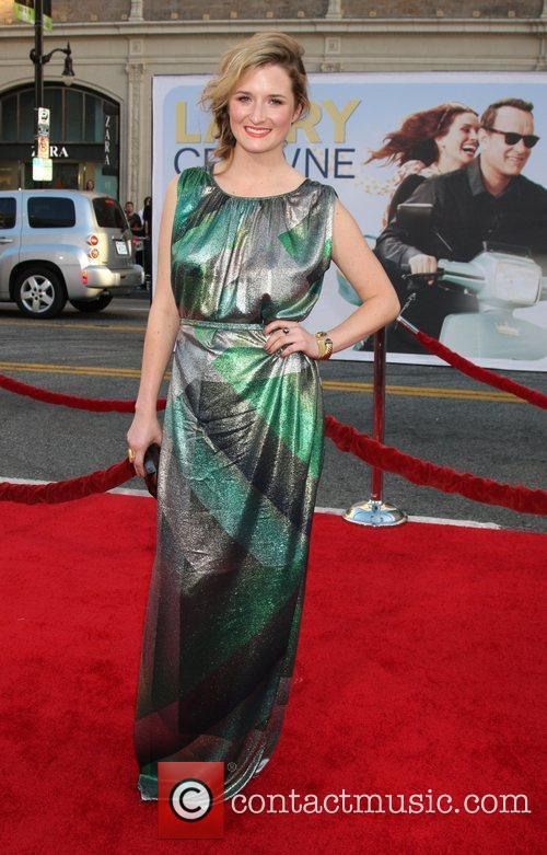 Grace Gummer 'Larry Crowne' Los Anglees Premiere at...